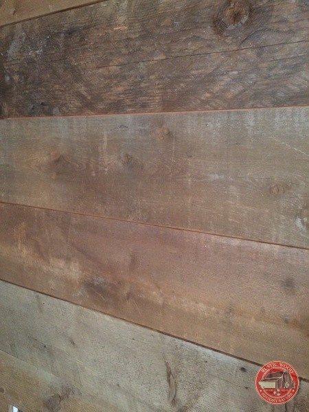 Recalimed Wood Fireplace Gaps in wood