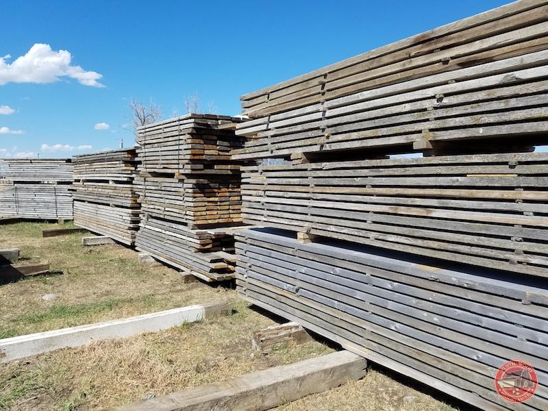 Rustic Wood Hub's reclaimed 2x8 corral board
