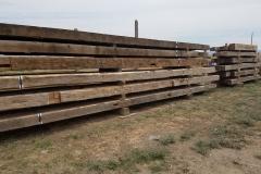 Rustic Wood Hub's hand hewn timbers