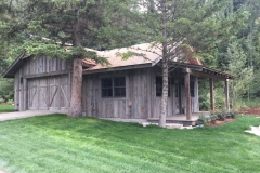 Rustic Wood Hub's Corral Board Siding