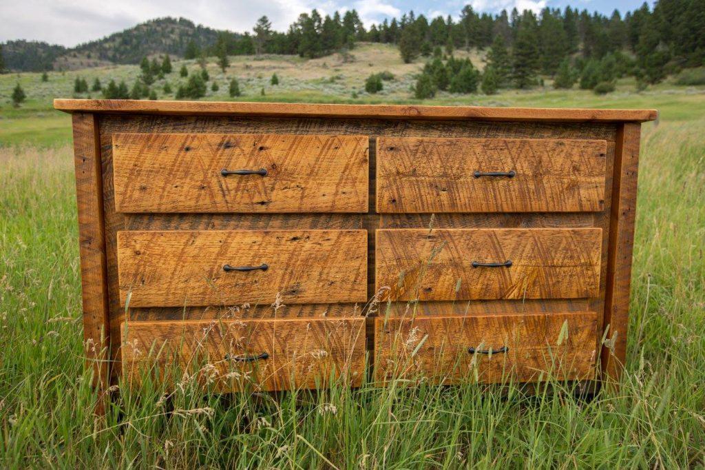 Alta Woodworks Dresser | Rustic Wood Hub | Bozeman, Belgrade, MT