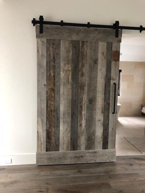 Corral Board Sliding Barn Door | Rustic Wood Hub | Bozeman, Belgrade, MT