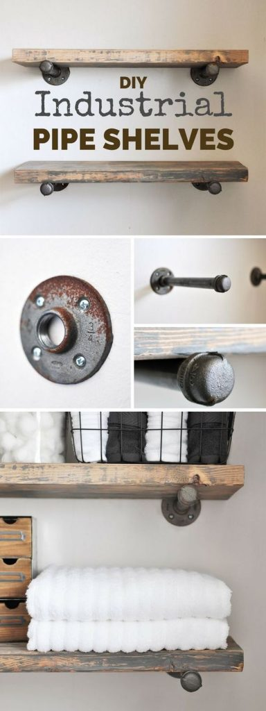 DIY Shelves | Rustic Wood Hub | Bozeman Belgrade, MT
