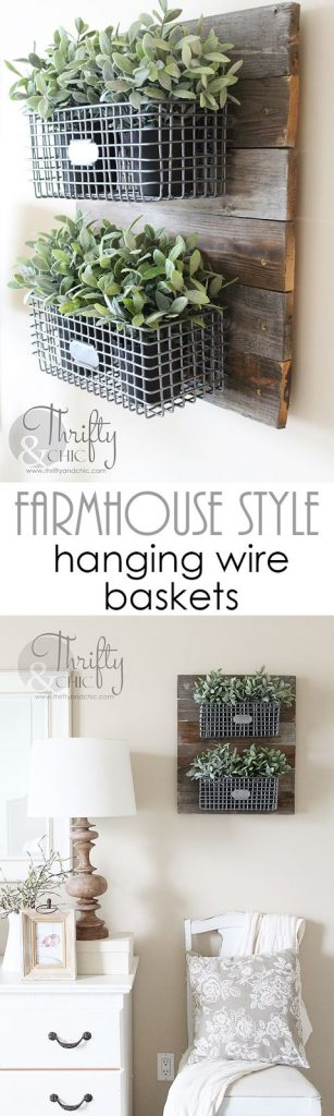 Hanging Baskets | Rustic Wood Hub | Bozeman, Belgrade, MT