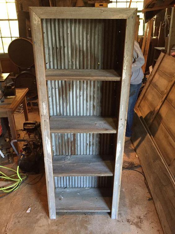 Reclaimed Wood Shelf | DIY | Rustic Wood Hub | Belgrade Bozeman, MT